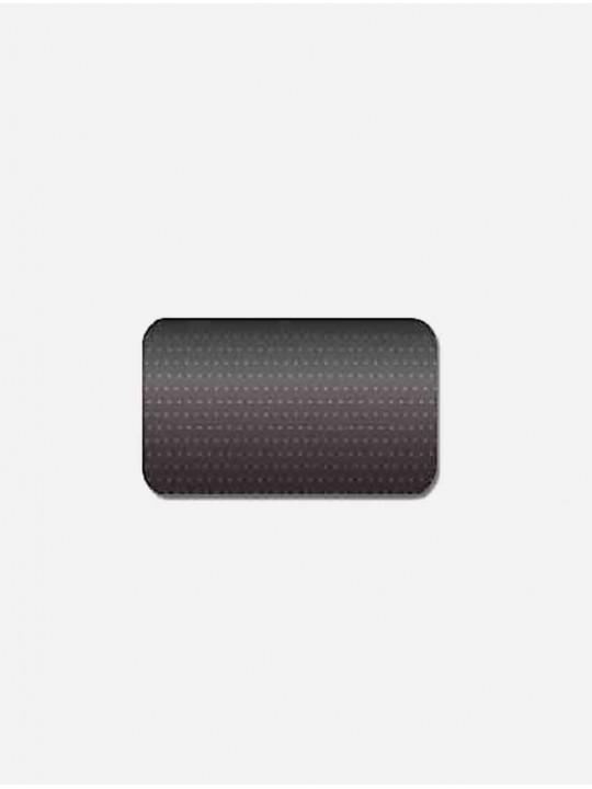 Горизонтальные алюминиевые жалюзи 25 мм черный перфорация