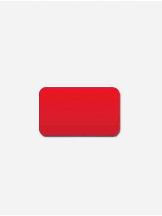 Горизонтальные алюминиевые жалюзи красный