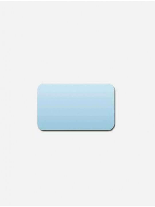 Горизонтальные алюминиевые жалюзи голубой
