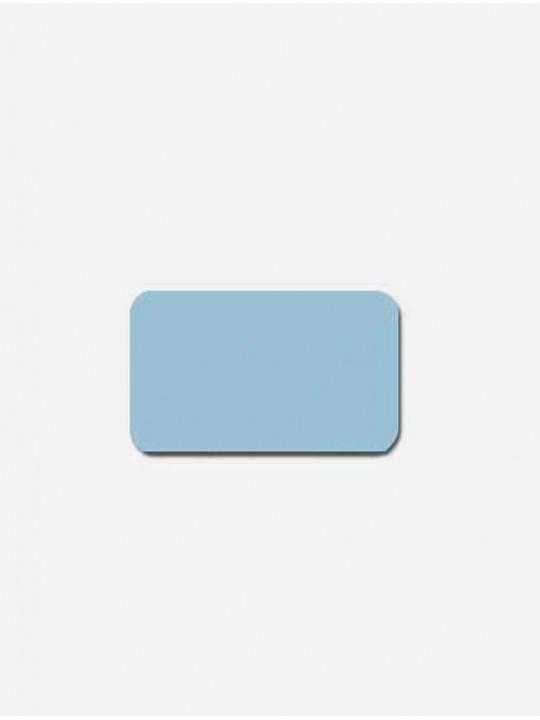 Горизонтальные алюминиевые жалюзи Венус голубые матовые