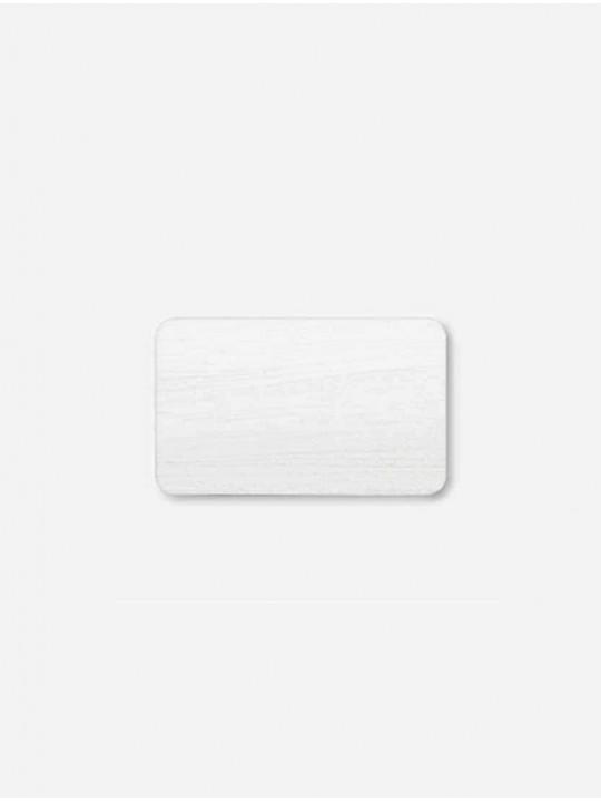 Горизонтальные алюминиевые жалюзи белый под дерево