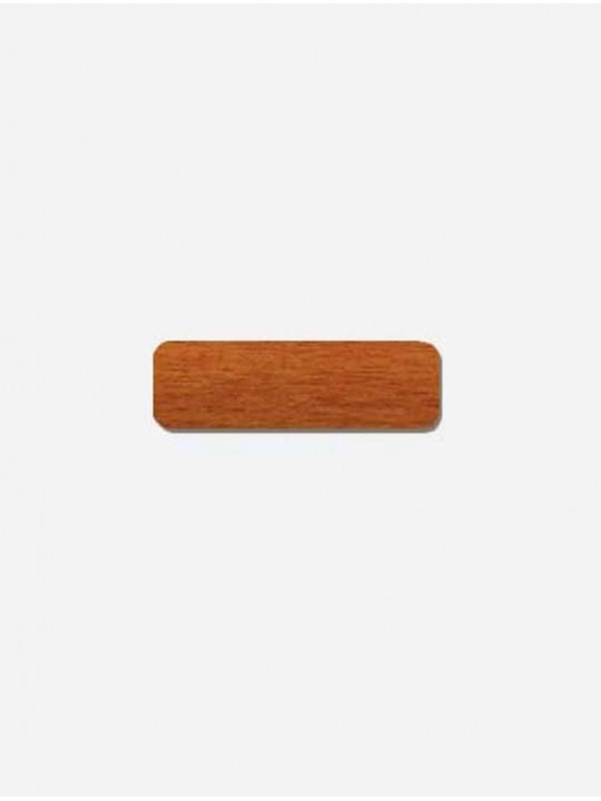 Горизонтальные алюминиевые жалюзи 16 мм коричневый под дерево