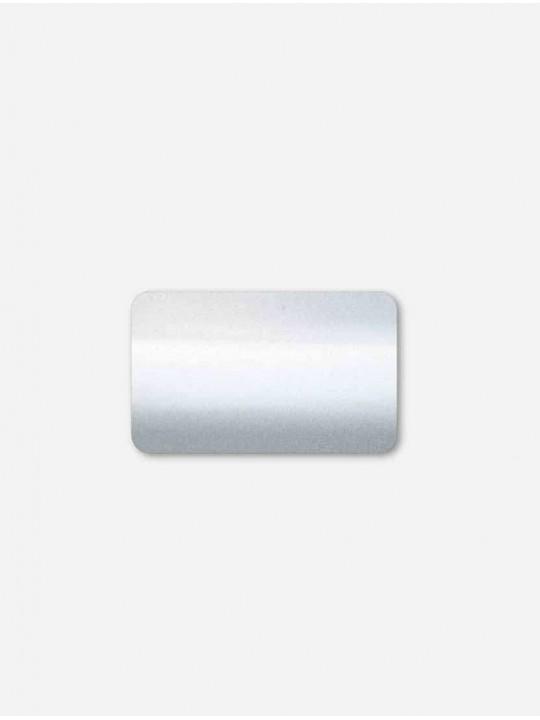Горизонтальные алюминиевые жалюзи Венус серебро металлик