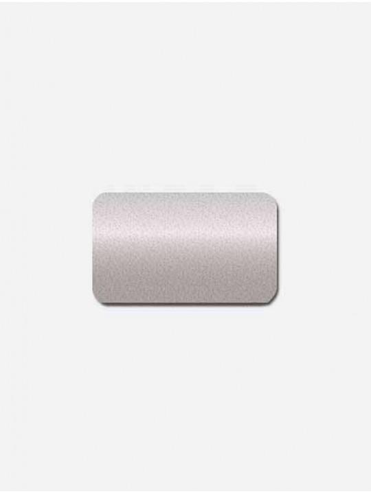 Горизонтальные алюминиевые жалюзи темное серебро металлик