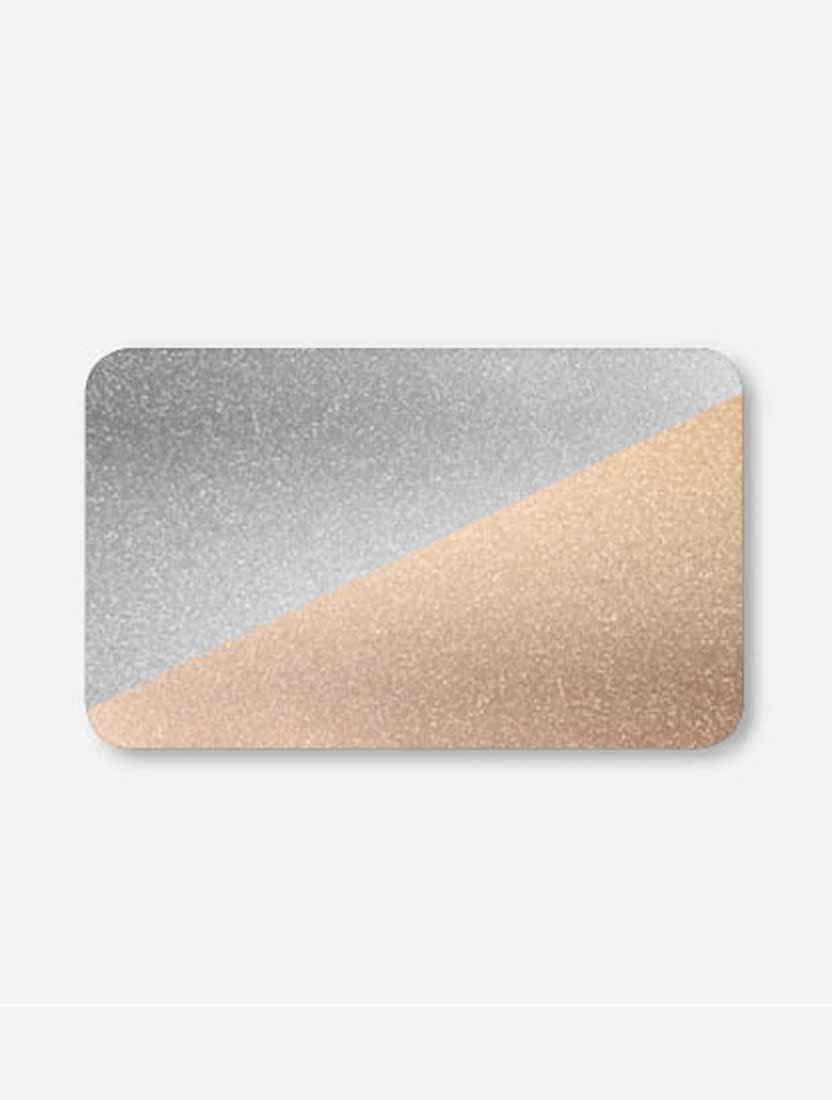 Межрамные горизонтальные жалюзи 25 мм золото-серебро металлик
