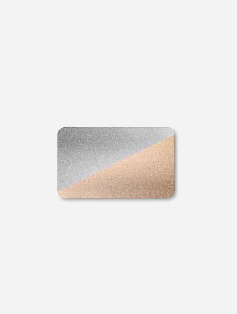 Горизонтальные алюминиевые жалюзи Венус серебро золото