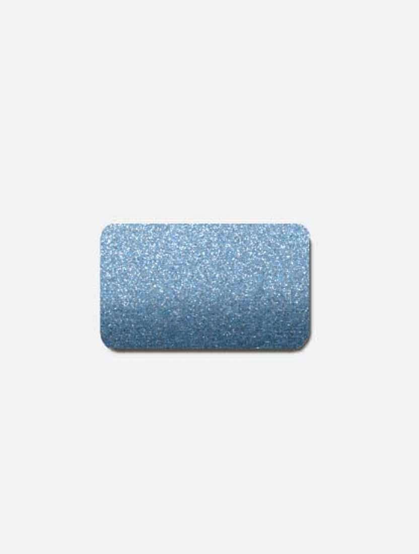 Межрамные горизонтальные жалюзи 25 мм синий металлик