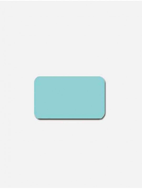 Горизонтальные алюминиевые жалюзи голубой металлик