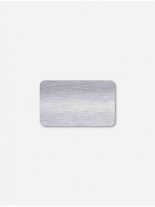 Горизонтальные алюминиевые жалюзи серебро браш