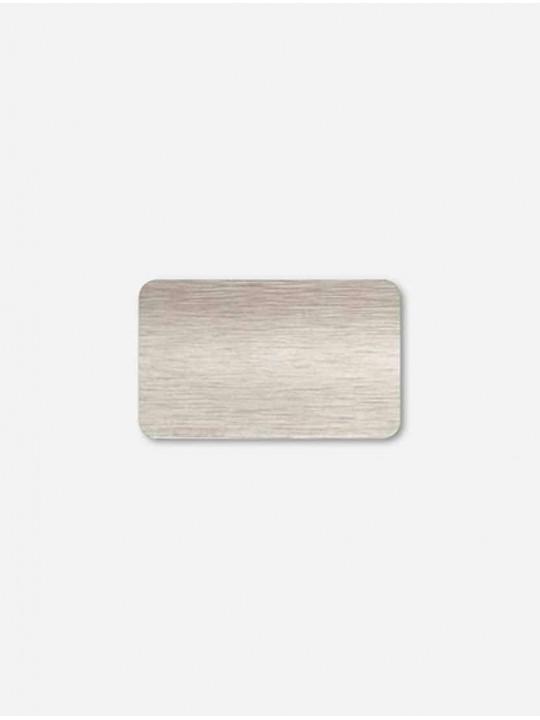 Межрамные горизонтальные жалюзи 25 мм серый браш