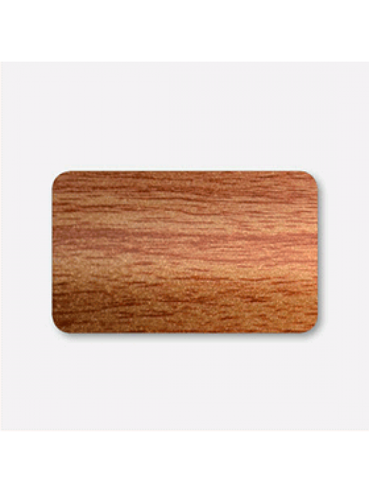 Межрамные горизонтальные жалюзи 25 мм коричневый под дерево