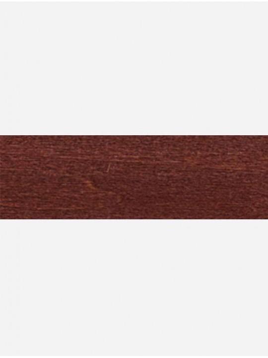 Горизонтальные деревянные жалюзи 25 мм красное дерево