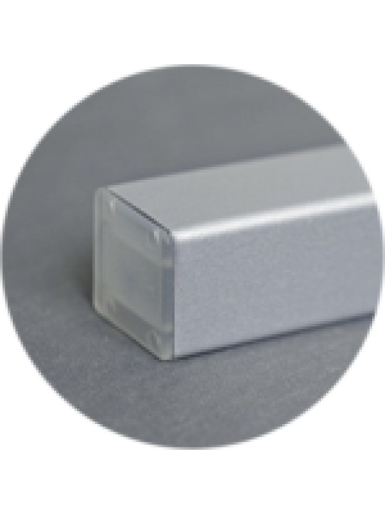 Карниз верхний Холис 4м, серый, металлик, св.-бежевый
