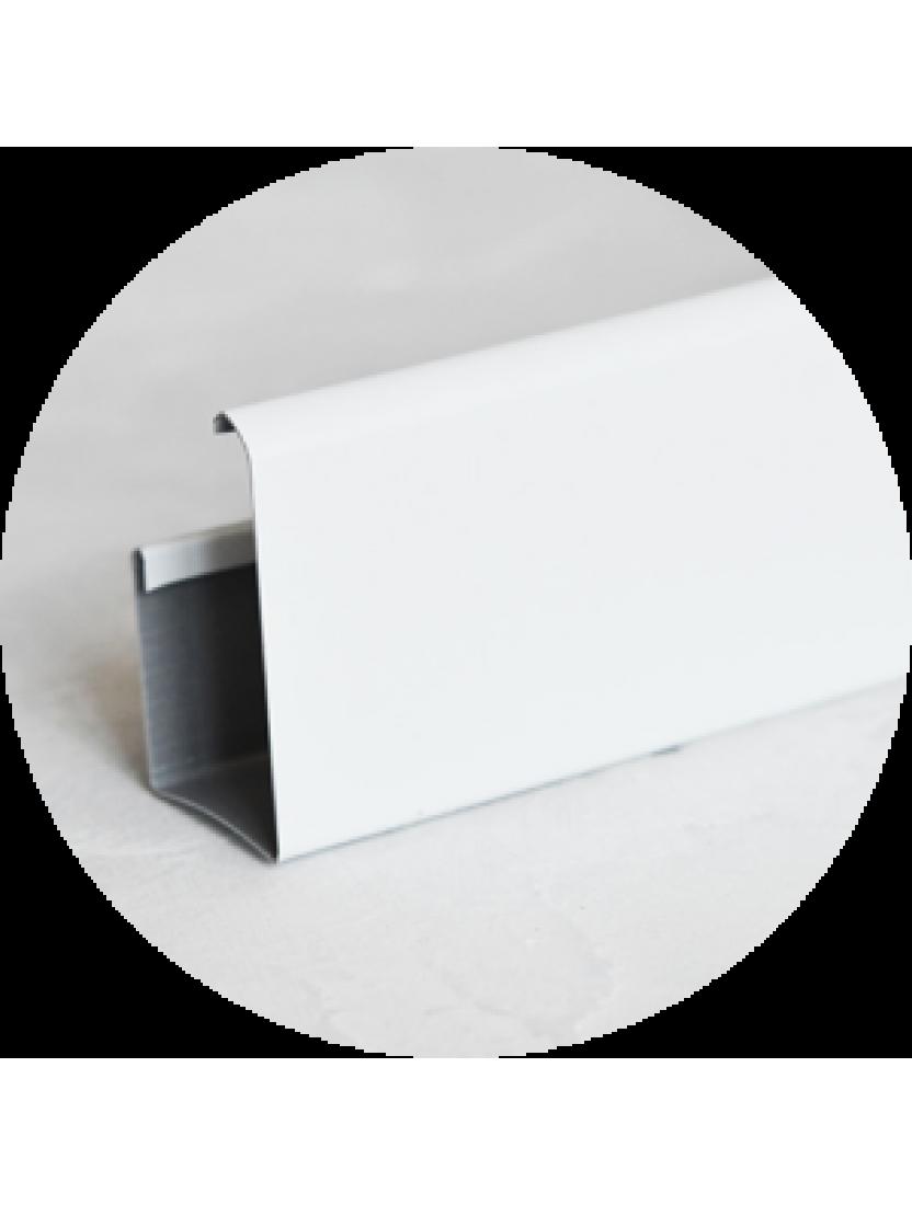 Карниз верхний (ГКС) 4м, белый