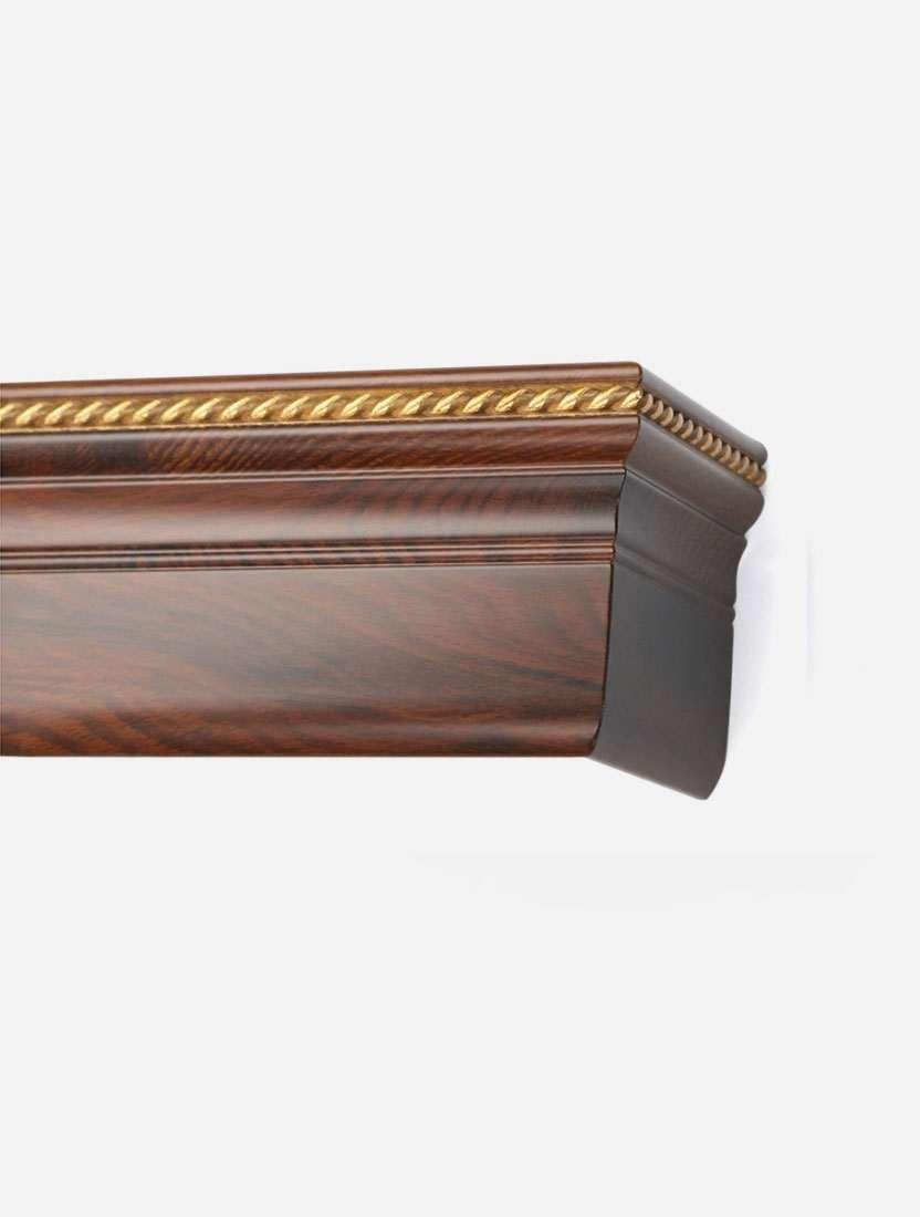 Багетный карниз Олимп на фанерной раме 16см