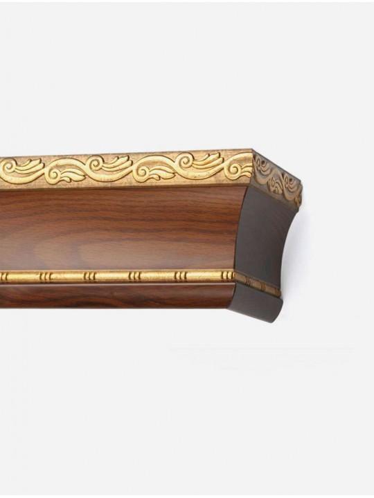 Багетный карниз Родос на фанерной раме 16см