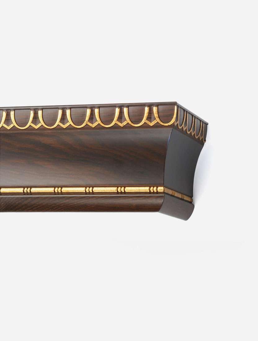 Багетный карниз Спарта на фанерной раме 16см