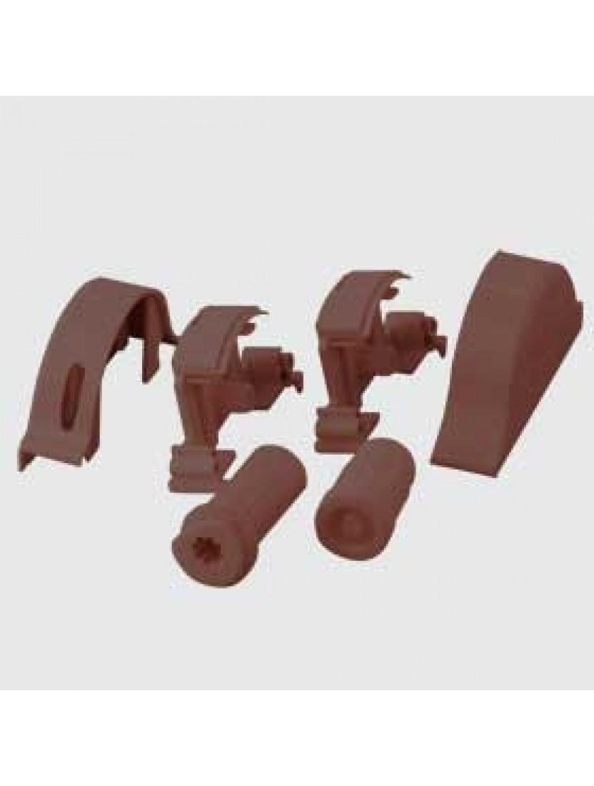Механизм управления комплект, левый UNI (коричневый)