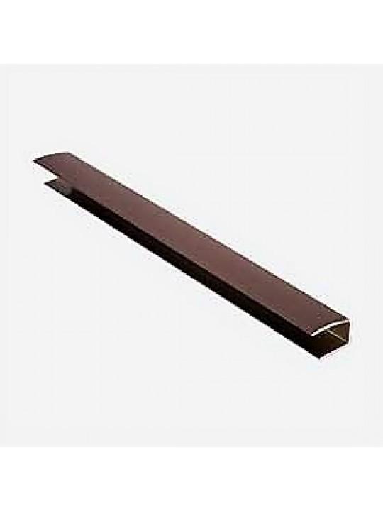 """Направляющая тип """"С"""", коричневая UNI, 4м"""