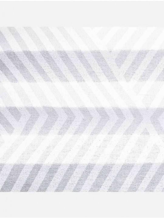 Штора плиссе тканевая Аллегро белый