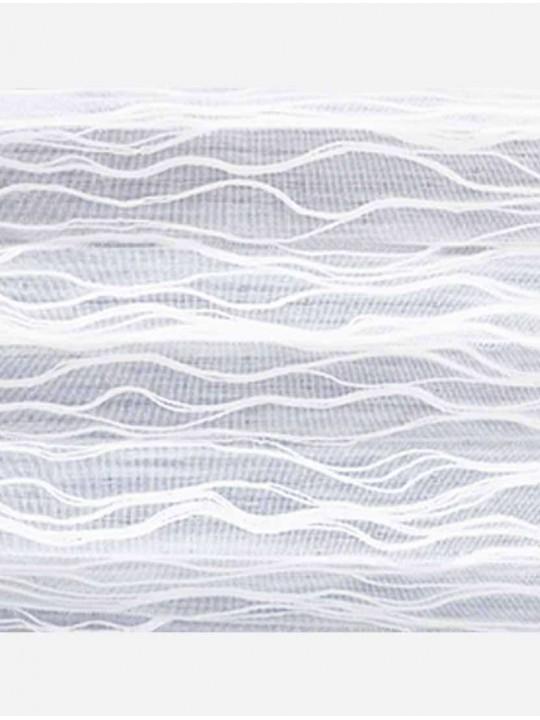 Штора плиссе тканевая Бланш белый