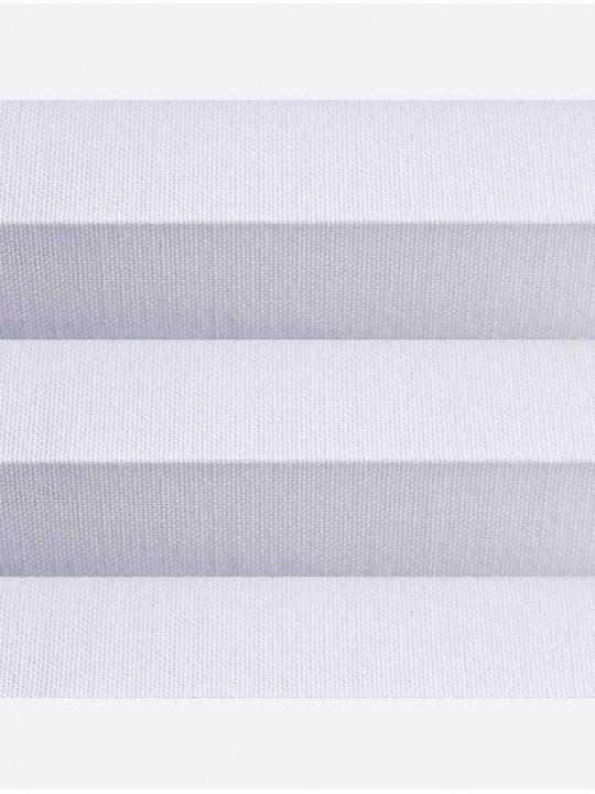 Штора плиссе тканевая Челси 32 мм серый