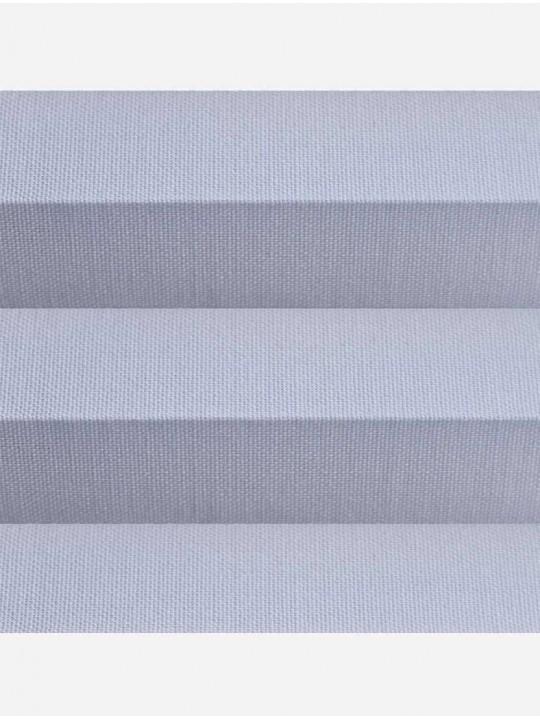 Штора плиссе тканевая Челси 32 мм темно-серый