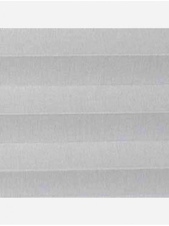 Штора плиссе тканевая Челси светло-серый