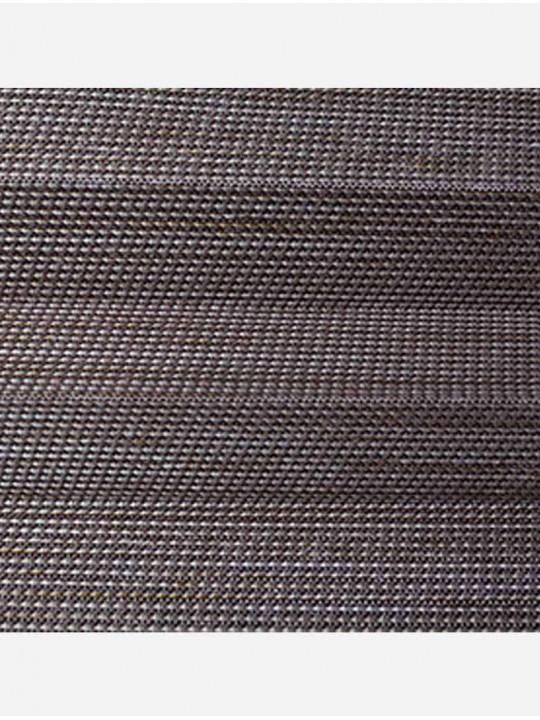 Штора плиссе тканевая Импала коричневый