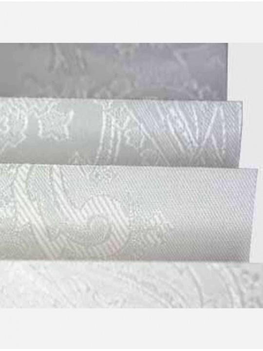 Штора плиссе тканевая Исфахан светло-серый