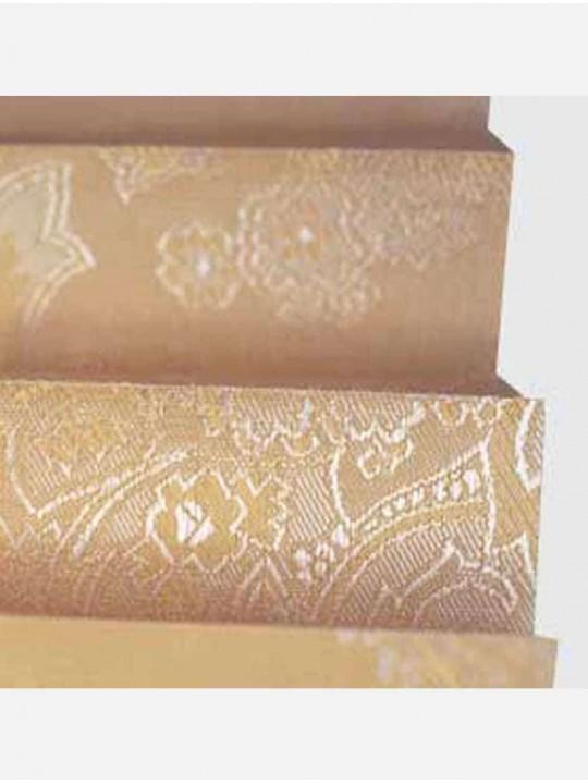 Штора плиссе тканевая Исфахан светло-коричневый