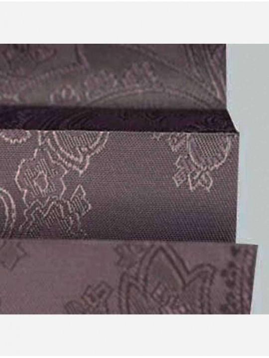 Штора плиссе тканевая Исфахан коричневый