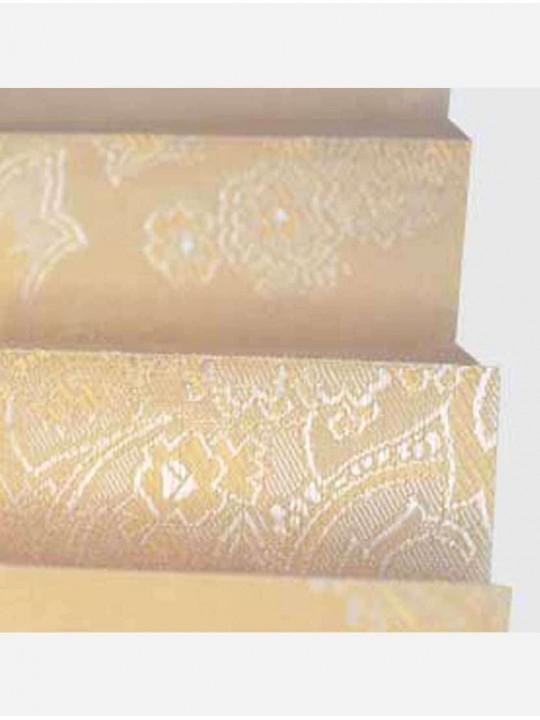 Штора плиссе тканевая Исфахан светло-бежевый
