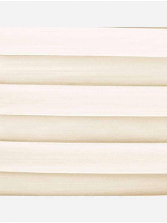 Штора плиссе тканевая Капри кремовый