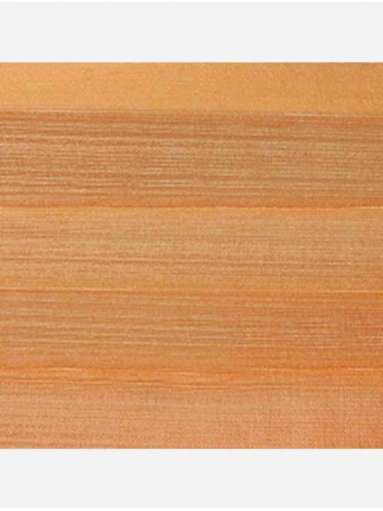 Штора плиссе тканевая Капри оранжевый
