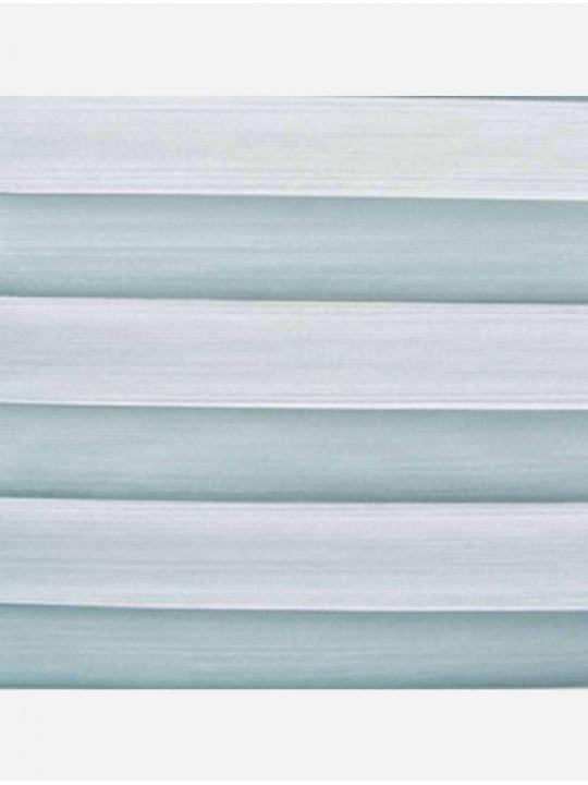 Штора плиссе тканевая Капри голубой