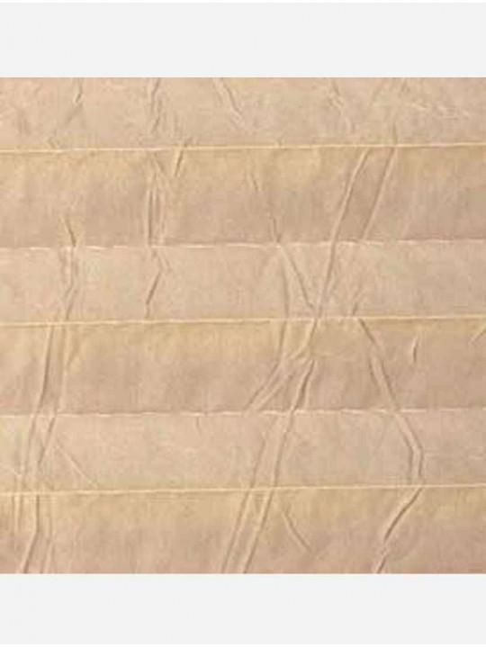 Штора плиссе тканевая Краш перла светло-бежевый