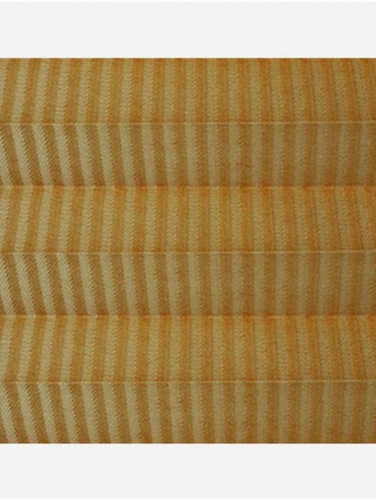 Штора плиссе тканевая Лайн перла бежевый