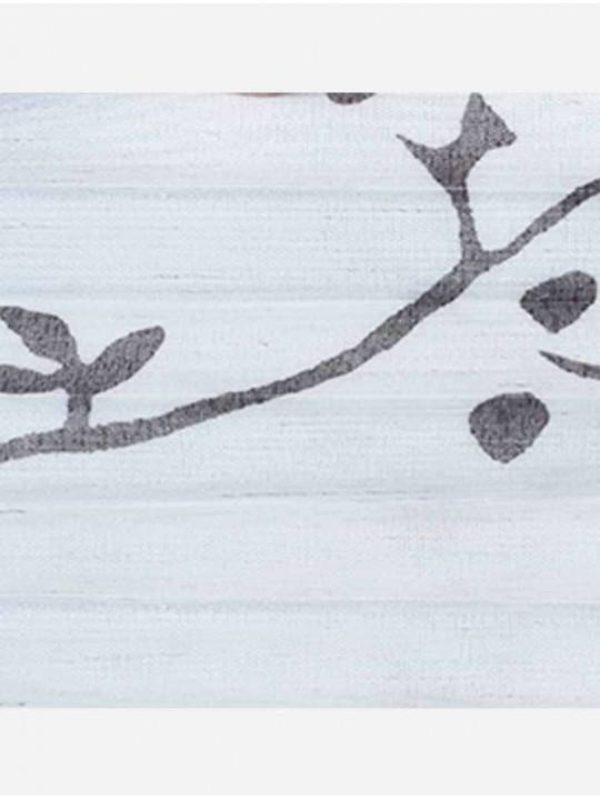 Штора плиссе тканевая Лён флер светло-бежевый