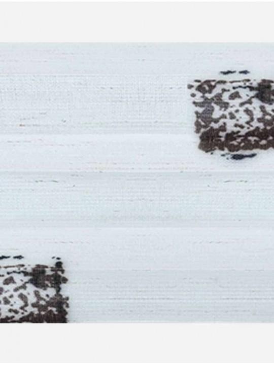 Штора плиссе тканевая Лён каре светло-бежевый