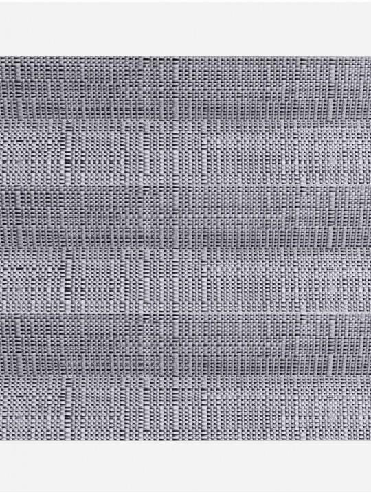 Штора плиссе тканевая Миссури серый