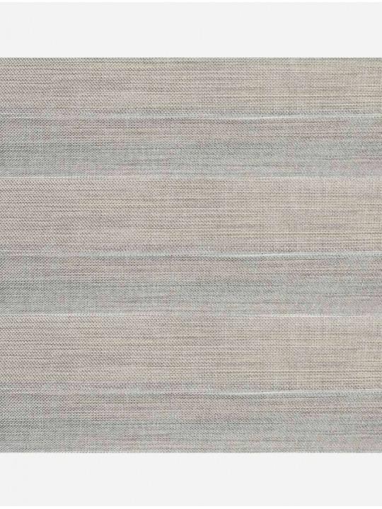 Штора плиссе тканевая Непал светло-серый