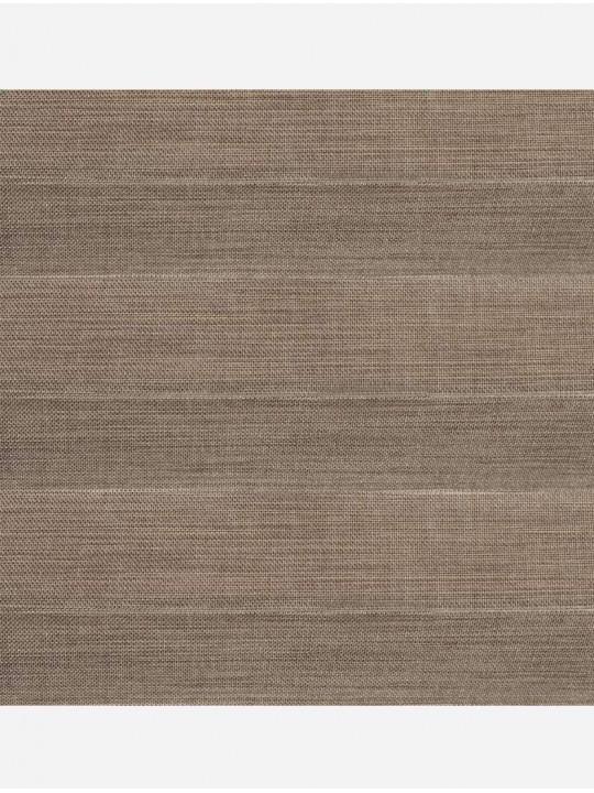 Штора плиссе тканевая Миссури светло-коричневый