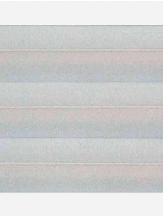 Штора плиссе тканевая Ноктюрн блэкаут серый