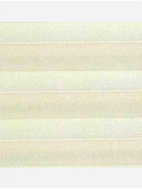 Штора плиссе тканевая Ноктюрн блэкаут светло-бежевый