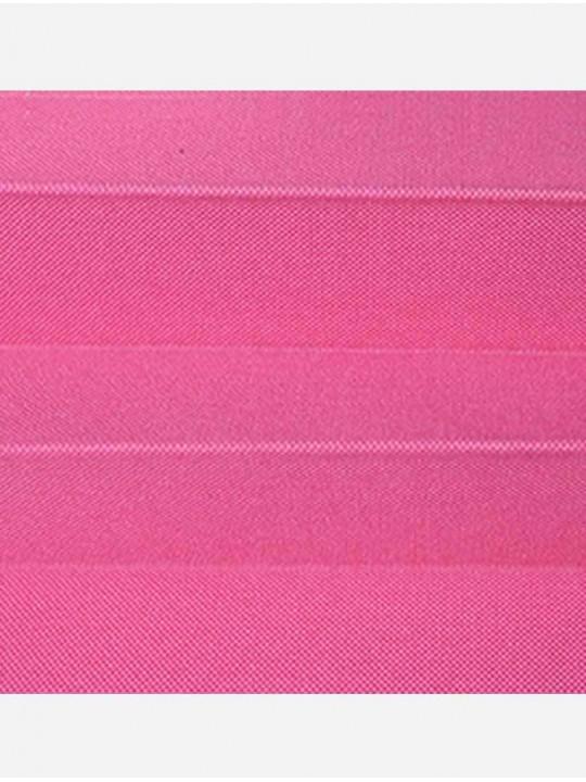 Штора плиссе тканевая Опера розовый
