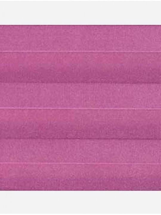 Штора плиссе тканевая Ноктюрн блэкаут лиловый