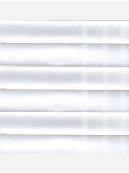 Штора плиссе тканевая Оксфорд белый
