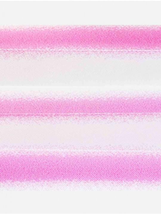 Штора плиссе тканевая Омбра розовый