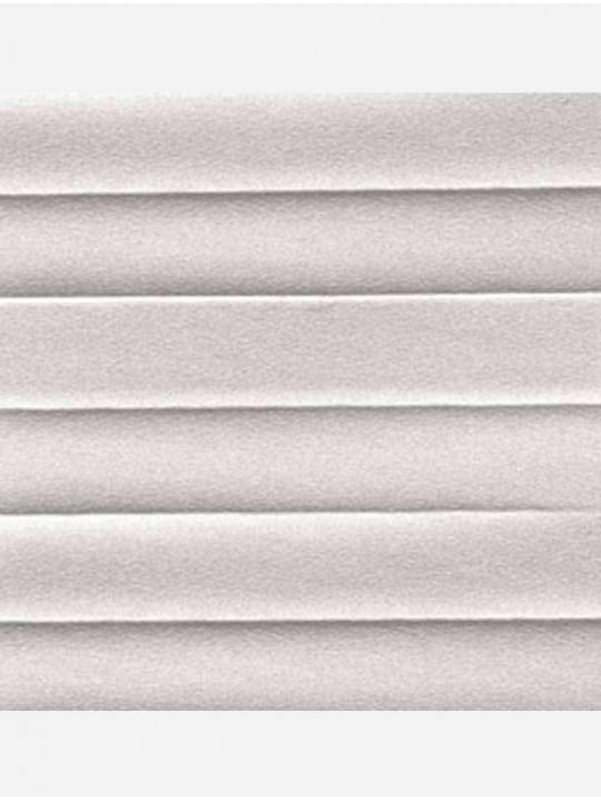 Штора плиссе тканевая Опал светло-серый